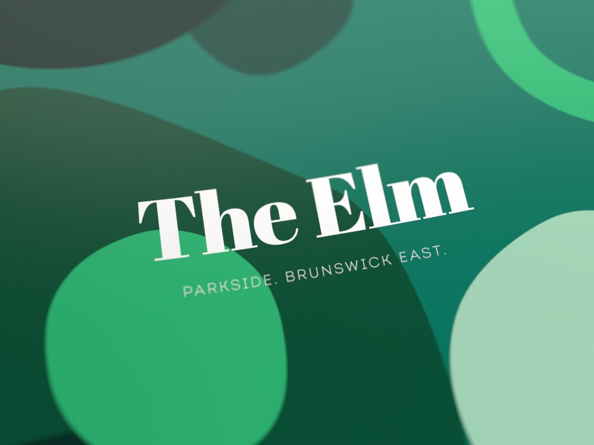 The Elm logo design
