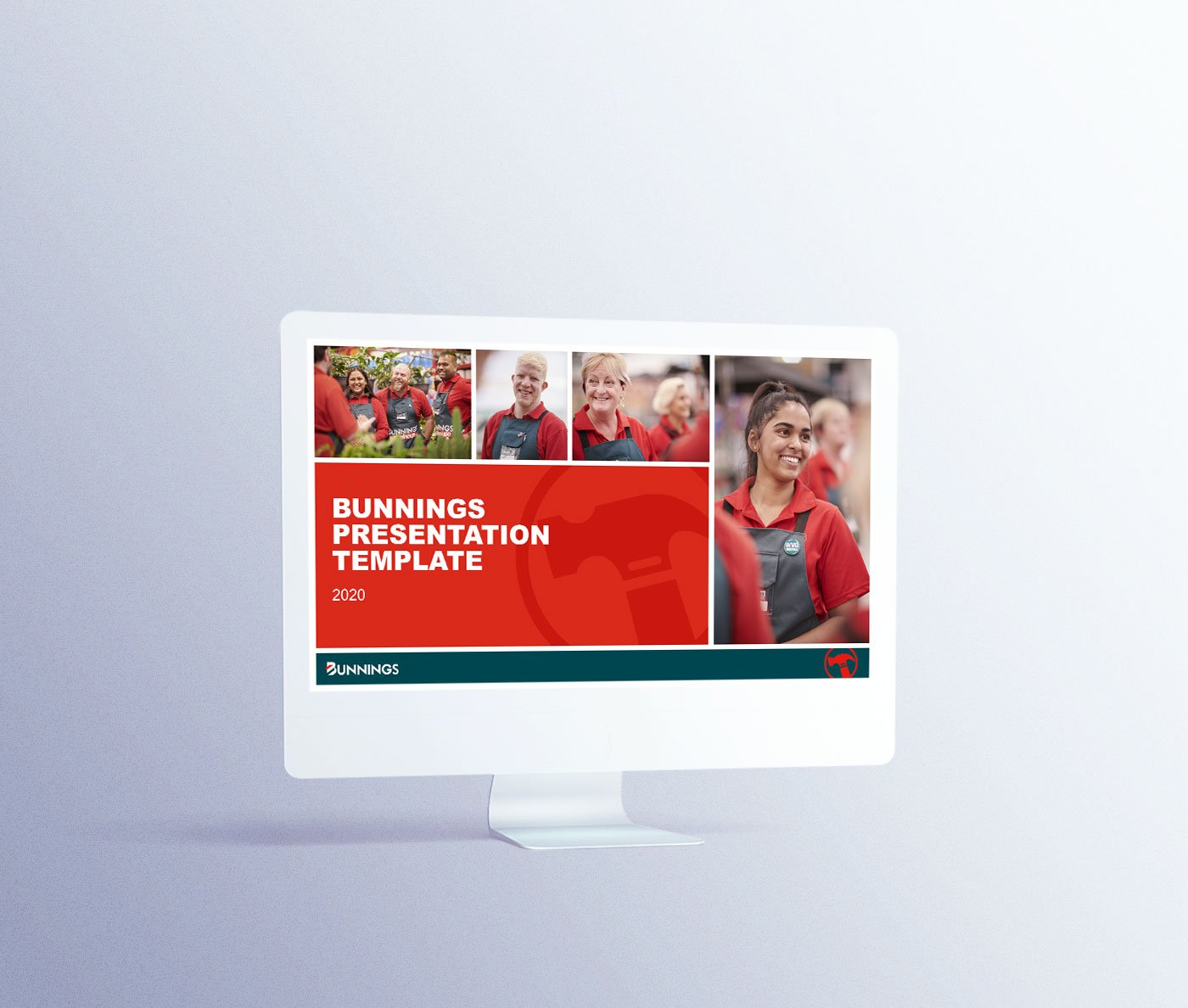 Bunnings presentation cover design