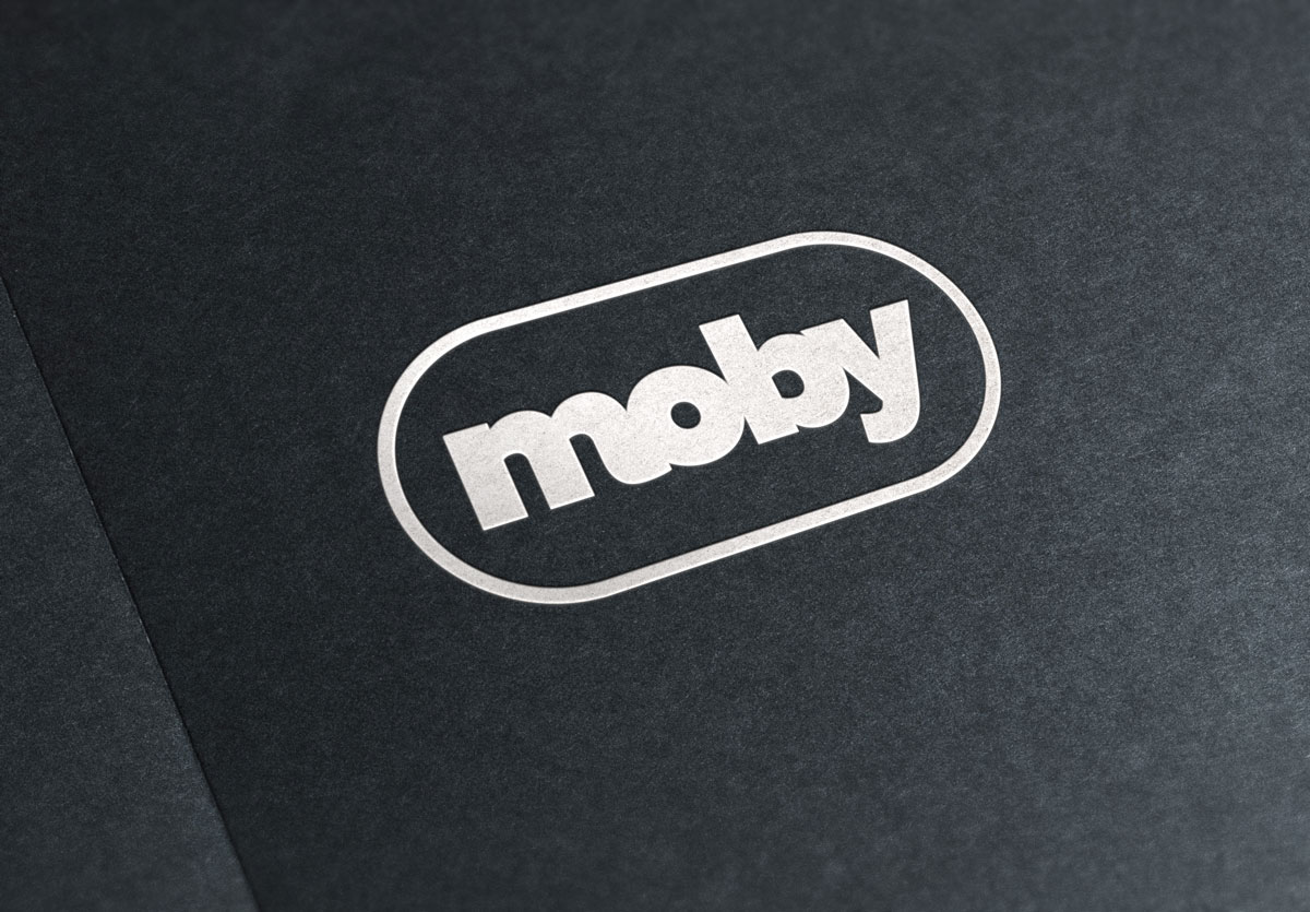Moby logo design