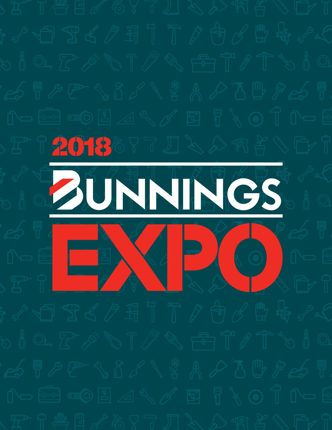 Bunnings Expo brand identity design
